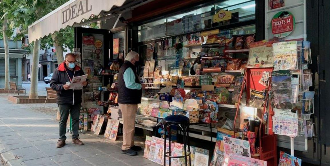 Granada y el ocaso de sus kioscos de prensa